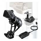 SRAM Upgrade Kit GX Eagle AXS (přehazovačka s baterií, páčka s objímkou, nabíječka)