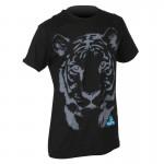 DEMOLITION Tričko Tiger černé
