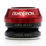 DEMOLITION Hlavové složení BMX 45x45 Campy červené