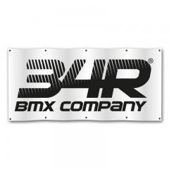 34R Banner pvc STRIPE bílý