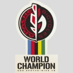 APACHE Samolepka World champion