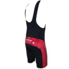 APACHE Kalhoty krátké šle černá/červená Vella