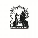 APACHE Přívěšek reklamní Indián