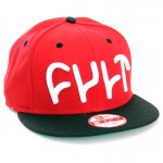 CULT Kšiltovka Logo Snap Back NewEra red
