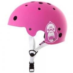 KING KONG Přilba BMX růžová
