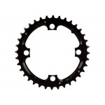 TRUVATIV Chain Ring MTB 36T 104 Alum 3mm Blast Black