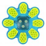 WOWOW Světlo blikací přední - FLOWER tyrkysové 3 x LED