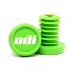 """ODI Koncovky řidítek """"Push-in"""" NEW plast zelené"""