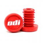 """ODI Koncovky řidítek """"Push-in"""" NEW plast červené"""