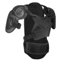IXS HAMMER JACKET oblek, chránič páteře, těla černý 2014