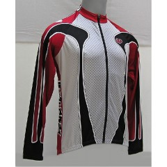PEARL IZUMI dres Team LS Jer.červeno/šedý