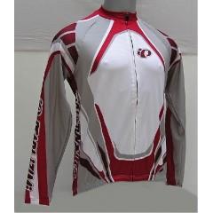 PEARL IZUMI dres Team LS Jer.červeno/bílý