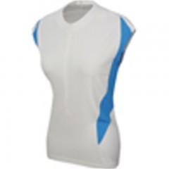 PEARL IZUMI dres Select CS 3/4ZipJ W bílo/modrý