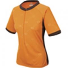 PEARL IZUMI dres Elite Ver.3/4ZipJ W oranžovo/hnědý