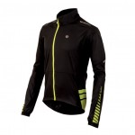 PEARL IZUMI bunda Elite Barrier black/flo yellow zip