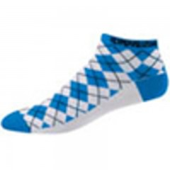 PEARL IZUMI ponožky Elite LE Low W modro/bílé kosti