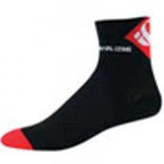PEARL IZUMI ponožky Elite LE černo/červené