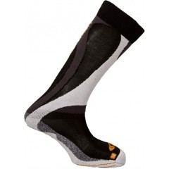 SALOMON ponožky Enduro black/orange 11/12