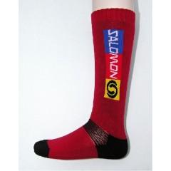 SALOMON ponožky Elios červené