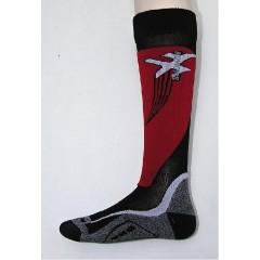SALOMON ponožky X Wing black/red