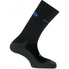 SALOMON ponožky Classic trek 2 black/anthracite/blue