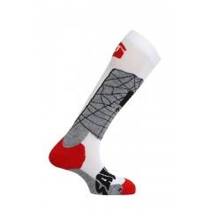 SALOMON ponožky The Villain white/grey 12/13