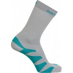 SALOMON ponožky Synapse light onix/pearl grey/blue