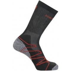 SALOMON ponožky Eskape black/autobahn/dynamic