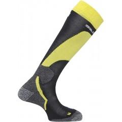 SALOMON ponožky Enduro black/yellow/white