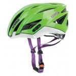 UVEX přilba Ultrasonic race green/white