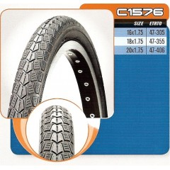 CST plášť 20x1,75 C-1576 47-406 černý