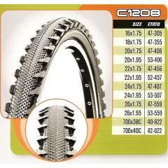 CST plášť 16x1,75 C-1208 47-305 černý