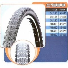 CST plášť 700x35,37-622 C-1338 černý