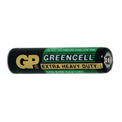 GP baterie R3G,AAA greencell