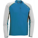 SALOMON triko Trail Runner LS zip blue