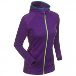 BJORN DAEHLIE bunda Freedom full zip hoody W tillandsia purpl