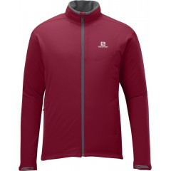 SALOMON bunda Nova Softshell M victory red 13/14