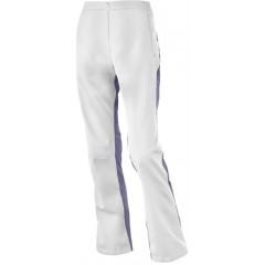 SALOMON kalhoty Active III Softshell W white/violet