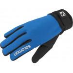 SALOMON rukavice Discovery M blue/black 13/14