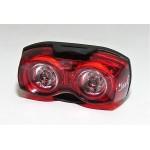 SMART blikačka zadní 321R 2x0,5W červená LED