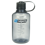 NALGENE Láhev Narrow Mouth 500ml, Gray Tritan