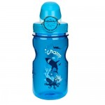 NALGENE Láhev Kids On The Fly 375ml, Slate Chomp