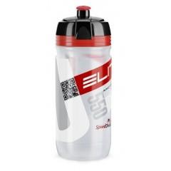 ELITE láhev 0,55L Corsa čirá,červené logo