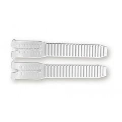 GAERNE pásek zubatý do bot do přesky bílý