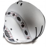 MANGO lyžařská helma Kino Free XP silver matt