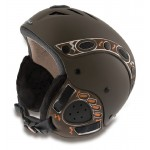 MANGO lyžařská helma Kino Free XP hnědá matná