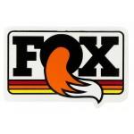 FOX NÁLEPKA HERITAGE 9cm