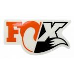 FOX NÁLEPKA 40YR 9cm