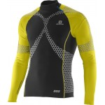 SALOMON triko EXO jersey M blac yellow 14/15