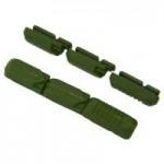 KOOL STOP Náhradní gumička MTB Tectonic - zelená (ceramic) - rozbaleno